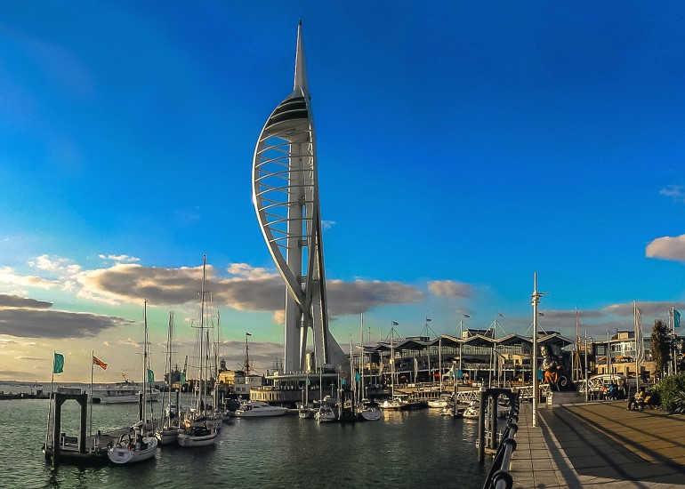 Portsmouth-Sudeste de Inglaterra-Hampshire