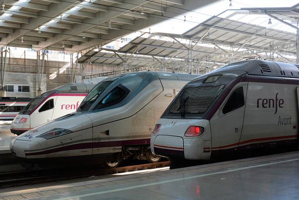 Tren Avant y Ave a Toledo