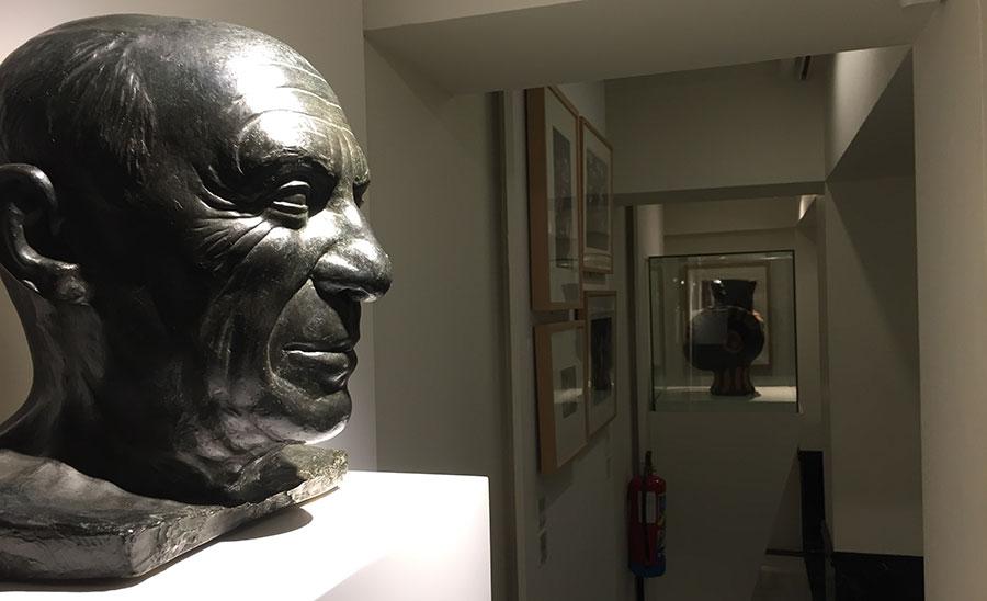 Interior del Museo Picasso de Buitrago del Lozoya