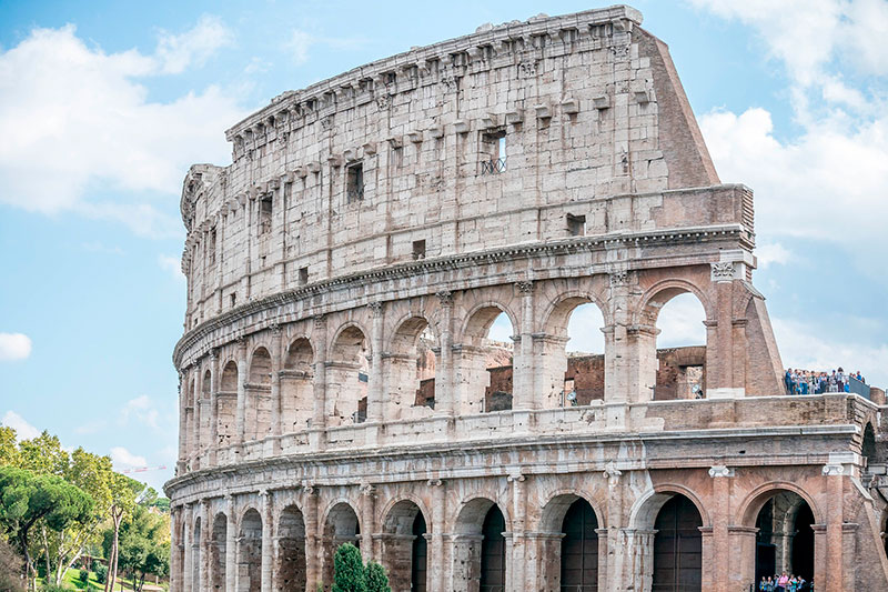 Monumentos del Mundo: Coliseo de Roma