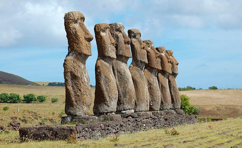 Monumentos del Mundo: Moáis