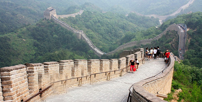 Monumentos del Mundo: Muralla, China