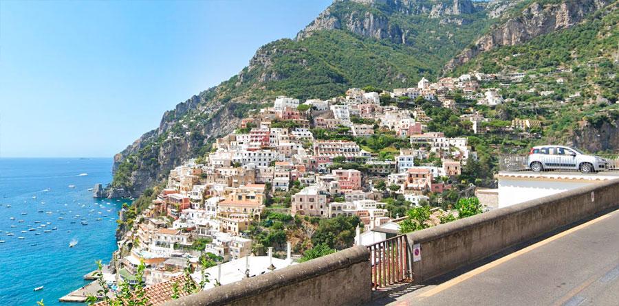 Ruta  Costa Amalfitana en Italia