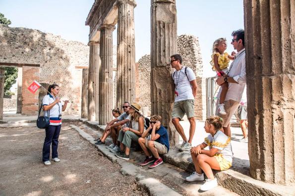 Desde Nápoles o Sorrento: tour de Pompeya y el monte Vesubio