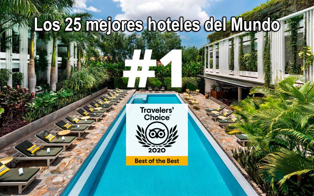 Los 25 mejores hoteles del Mundo